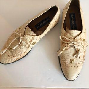 Vintage Giorgio Brutini Men's Snake Hipster Shoes